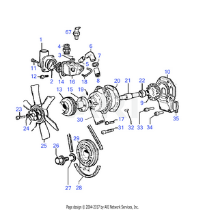 LM Trac 286 Water pump