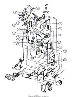 LM Trac 286 2-wheel drive system