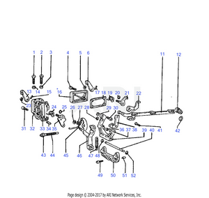LM Trac 286 Fuel system linkage
