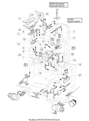 LM Trac 285 2-wheel driving system