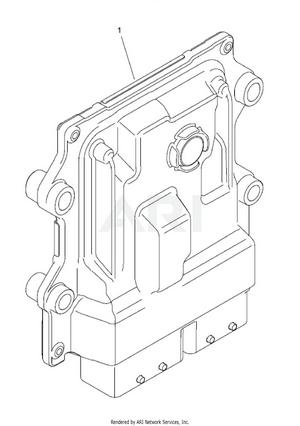 LM Trac 287 Engine control unit