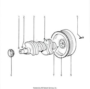 LM Trac 285 Crankshaft