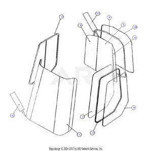 LM Trac 287 Windows and gaskets