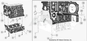 LM Trac 387 Crankcase