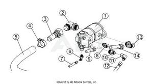 LM Trac 287 Work pump