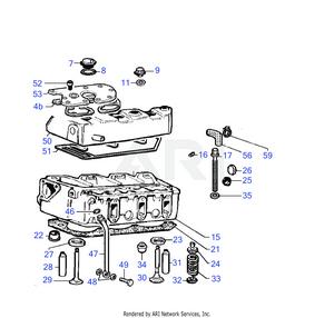 LM Trac 286 Cylinder head