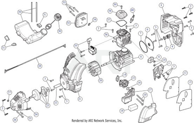 Troy Bilt Tb575ec 41cdt57c766 Engine Assembly Diagram