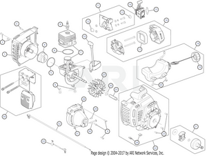 troy bilt tb35ec 41bdz35c766 engine assembly rh weingartz com  small engine assembly diagrams