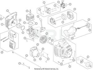 troy bilt tb35ec 41bdz35c766 engine assembly rh weingartz com  trx 3.3 engine assembly diagram