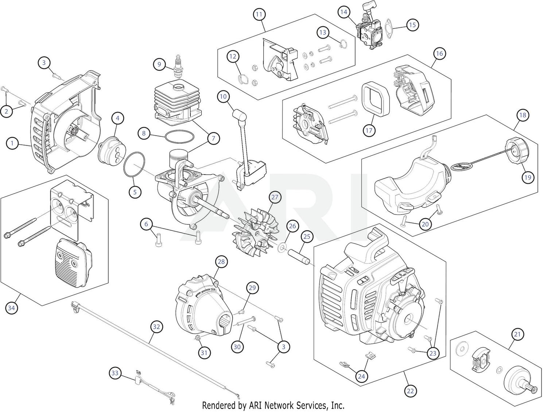 [WRG-4671] Troy Bilt Engine Diagram