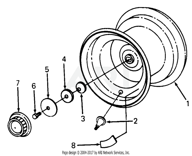 1620 Cub Cadet Schematic Wiring Library 137 270 100 Rear Wheel