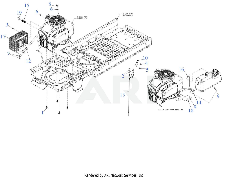 Mtd 17aqnamu029 2018 Engine Accessories Diagram