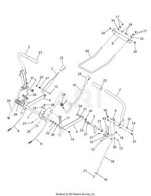 Troy-Bilt 17AF2ACP011 Mustang RZT 50 '08 17-Z Series