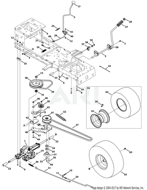 Huskee 13W277SS031 LT 4200 (2015) - PartsWarehouseParts Warehouse