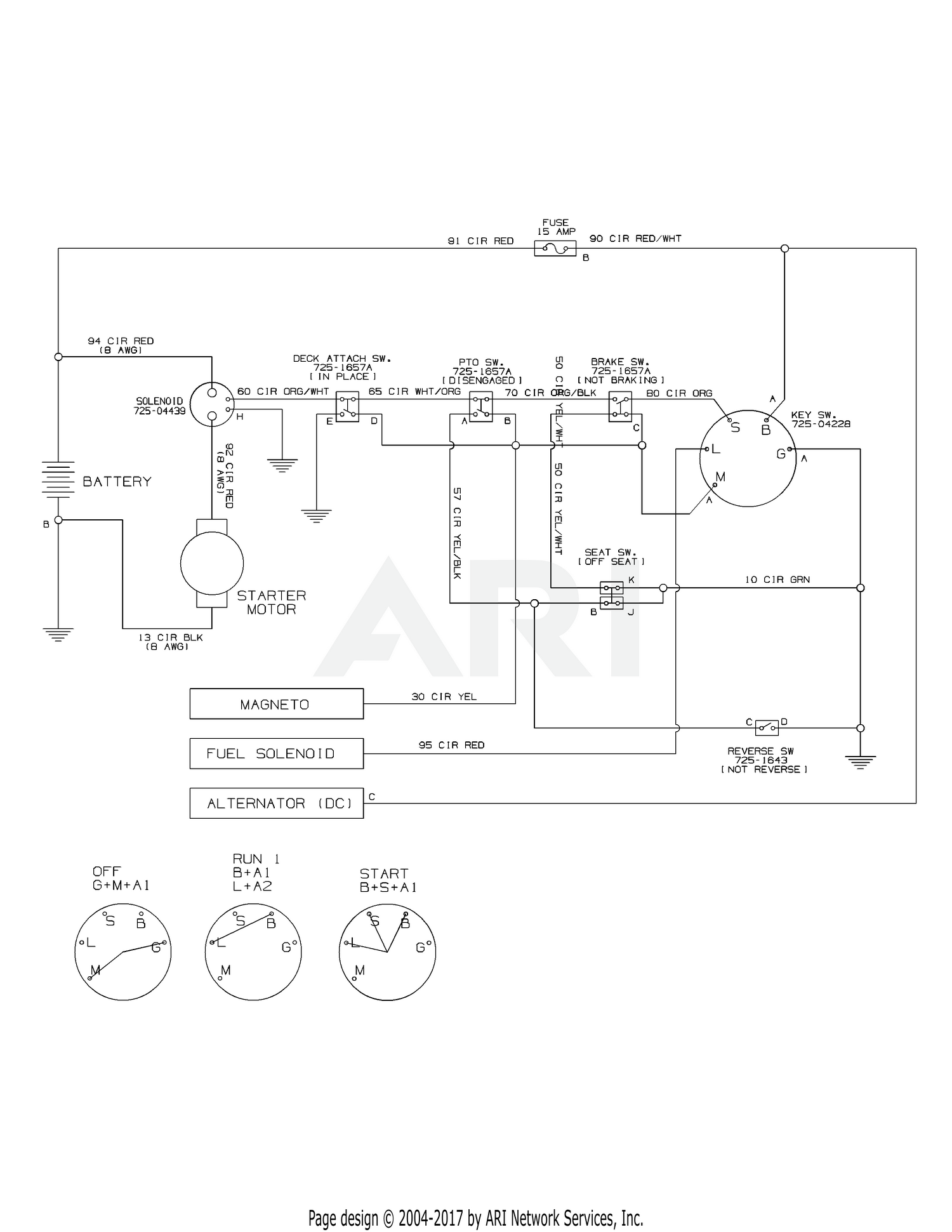 Troy Bilt 13ac26jd211 2012 Tb30 R Neighborhood Rider Wiring Diagram Schematic Bs