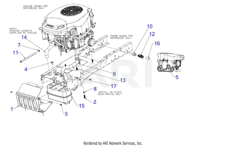 bronco engine diagram troy bilt 13aqa1bq011 super bronco 50 xp  2018  engine accessories  troy bilt 13aqa1bq011 super bronco 50