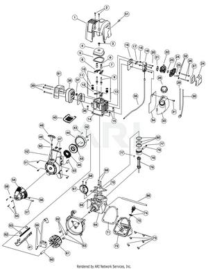 troy bilt engine wiring diagram troy bilt tb465ss 41adt46c966 pony gas trimmer partswarehouse  troy bilt tb465ss 41adt46c966 pony gas