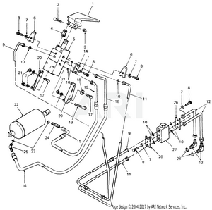 cub cadet 1863 s n 836 001 880 000 143 664 100 144 664 100 145 664 Powerglide Transmission Diagram hydraulic lift controls