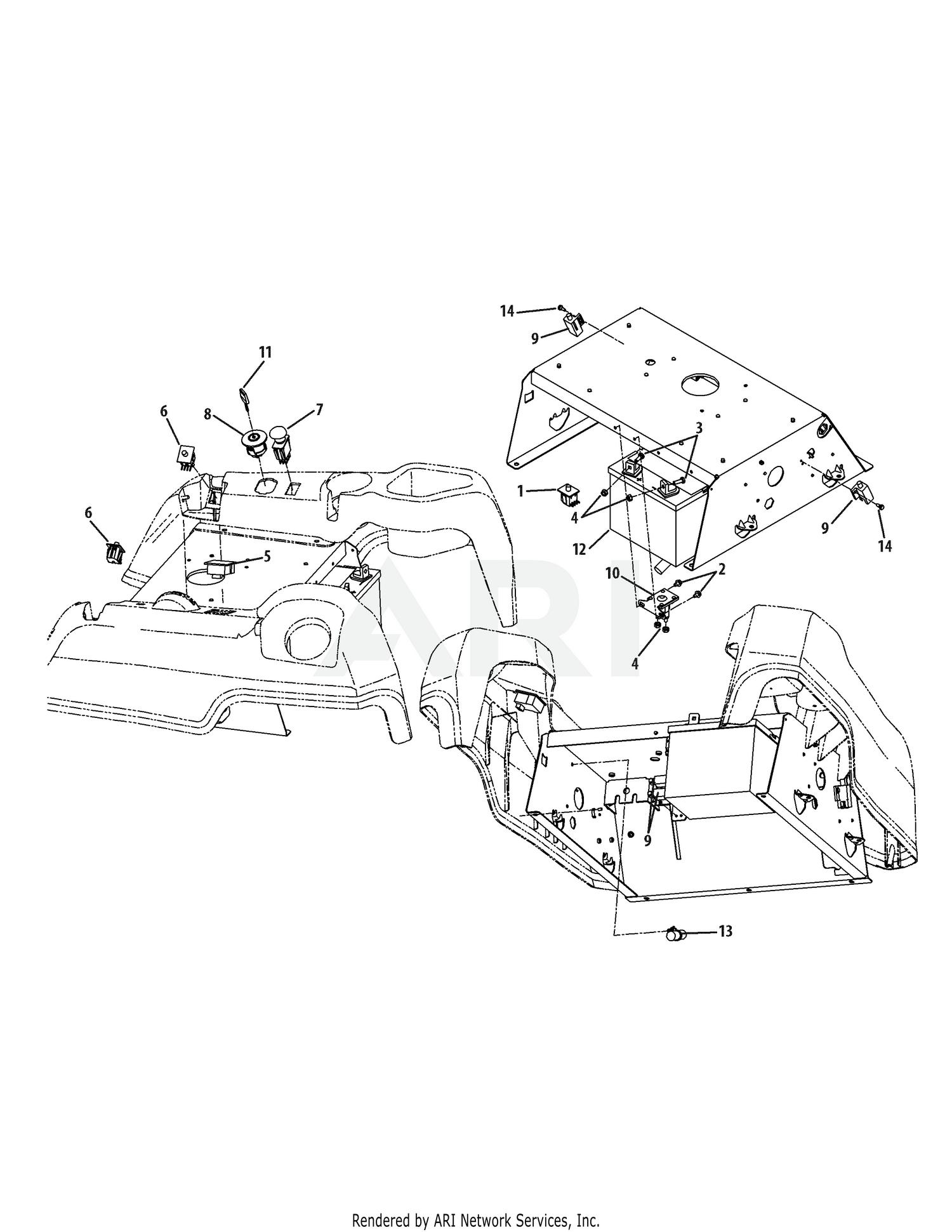 troy bilt engine wiring diagram troy bilt 17bf2acp066 mustang xp  2009  electrical  troy bilt 17bf2acp066 mustang xp  2009