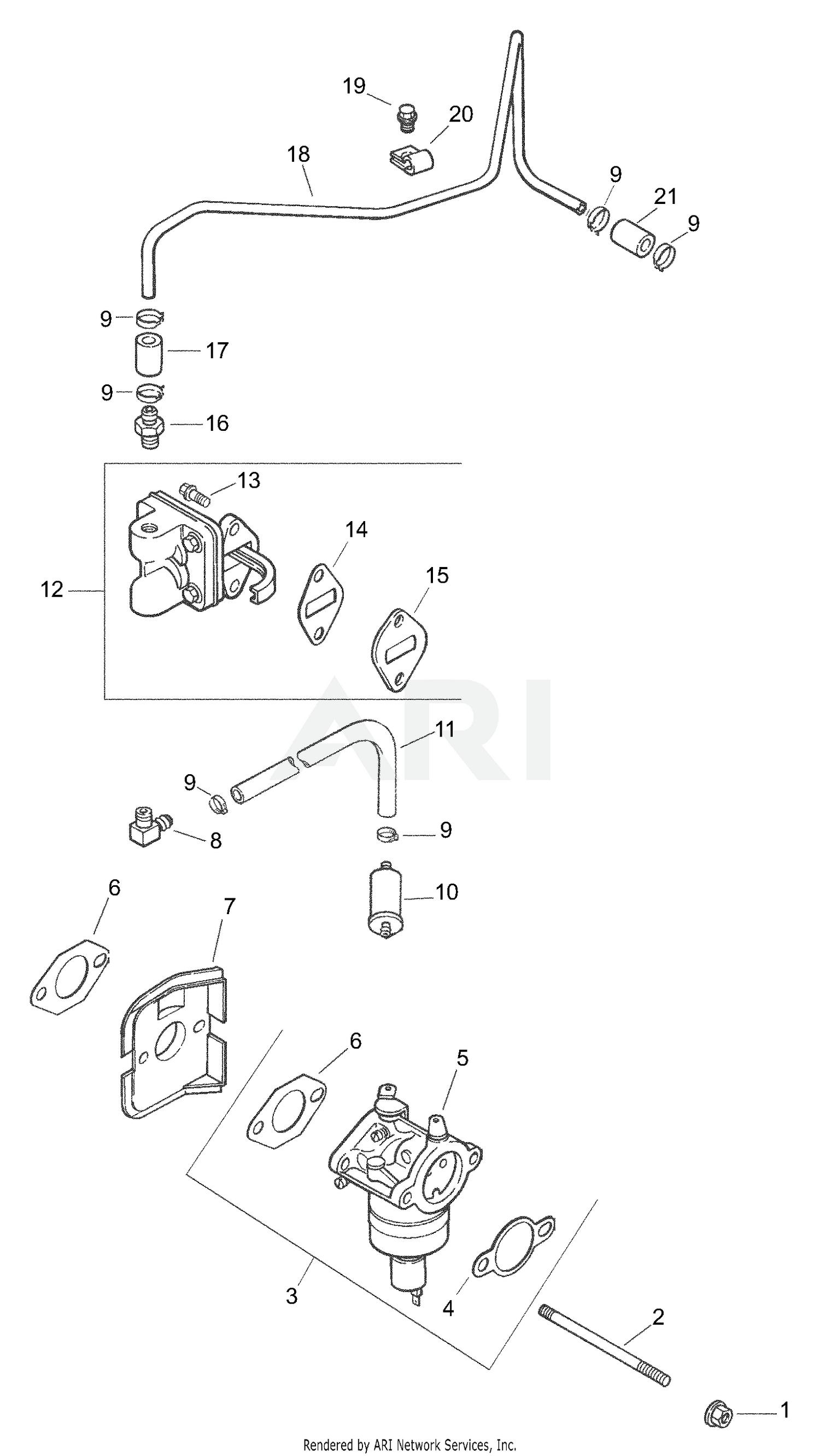 Carburetor Carb For Cub Cadet LT1018 13AB11CG712 13AL11CG710 13AB11CG710 Tractor