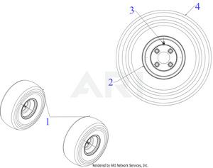 Troy-Bilt 1174058 Zero-Turn Riding Mower - PartsWarehouse
