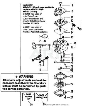 Poulan Micro V Gas Saw