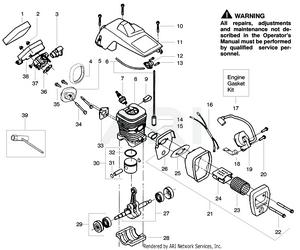[SCHEMATICS_4LK]  Poulan/Snapper S1838 Snapper Gas Saw   Briggs Stratton Engine Diagram Chainsaw      Parts Warehouse
