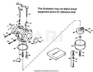 Tecumseh CA-632203 Carburetor Parts |PartsWarehouse
