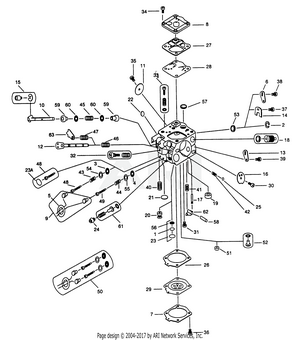 Walbro Carburetor Diagrams