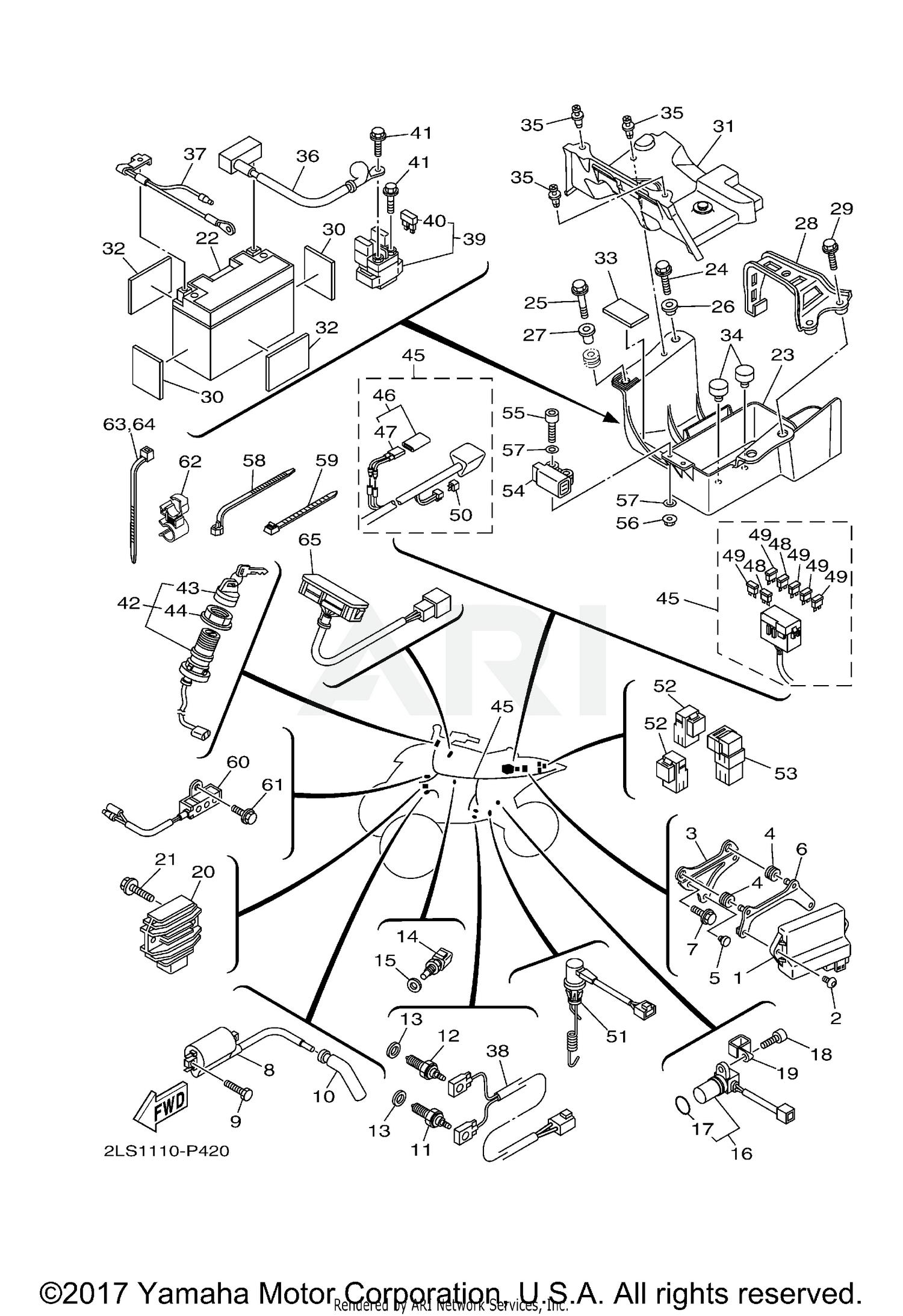 Raptor 700 Wiring Diagram - Wiring Diagram