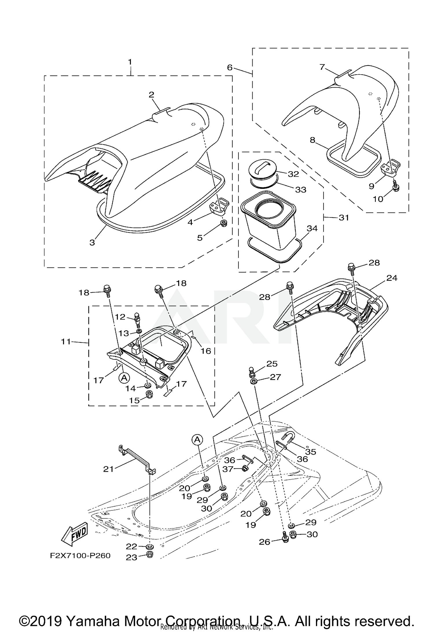 HVAC Defrost Mode Door Actuator- Vacuum MOTORCRAFT YH-529