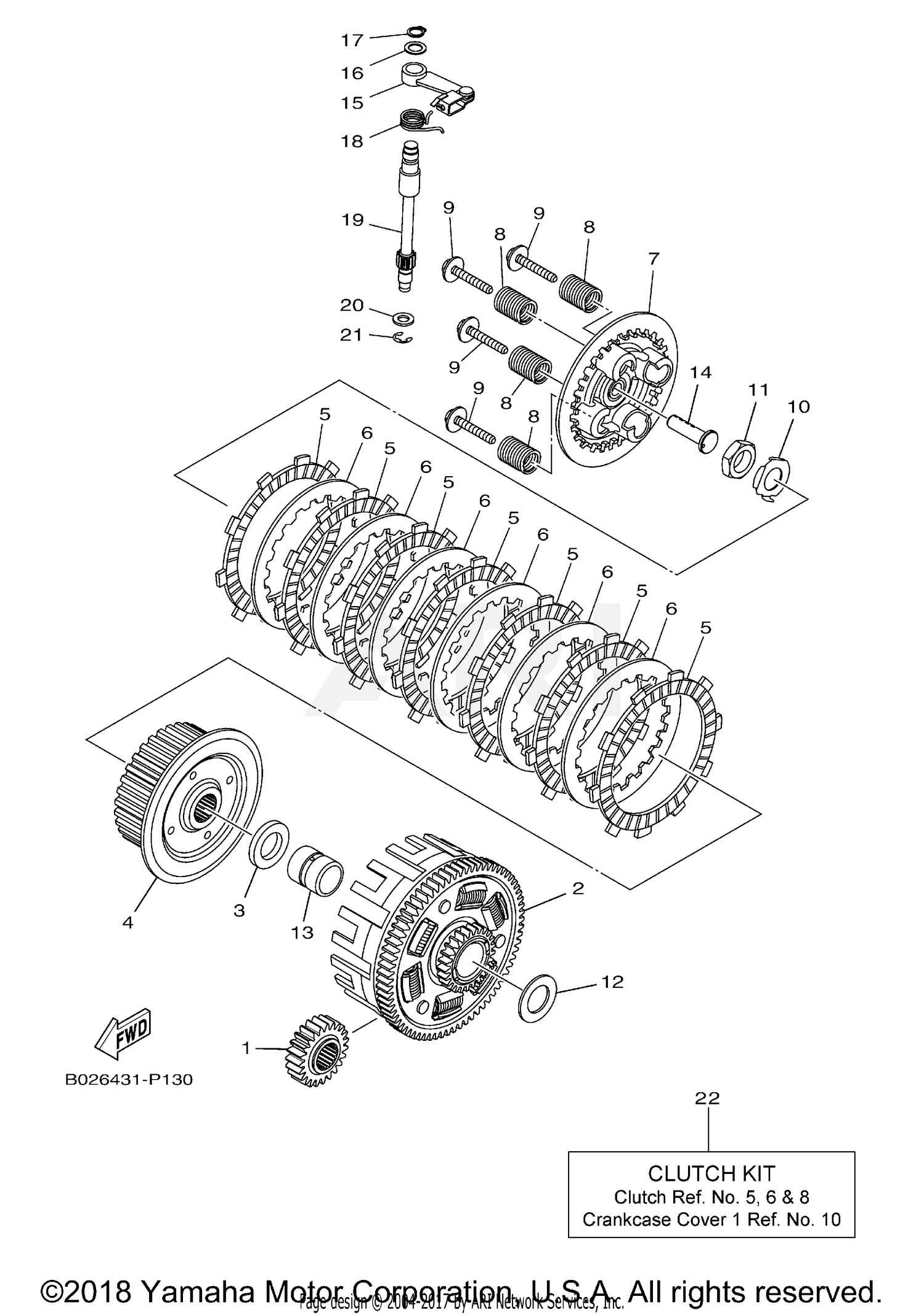 2018 yamaha r3 yzfr3ajb clutch parts best oem clutch Automatic Clutch Parts Diagram schematic search results (0 parts in 0 schematics)