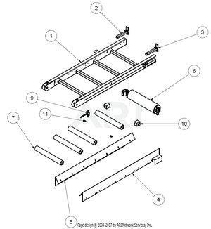 1.6.1 Übersicht Bauteile MS1600 Grobfraktion Oberteil