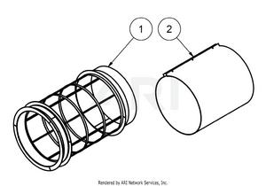 1.2. Übersicht Baugruppe Trommel mit Siebbelag