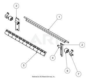 1.5.3 Übersicht Bauteile MS 1600 Feinfraktion Abstreifer