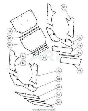 1.8. Übersicht Baugruppe Trommelinnenverkleidung