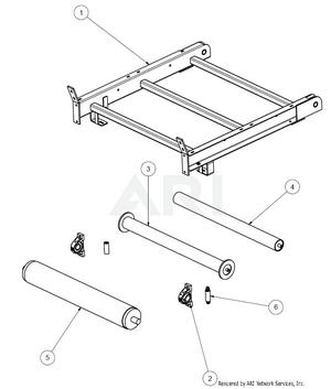 1.5.2 Übersicht Bauteile MS 1600 Feinfraktion - Unterteil