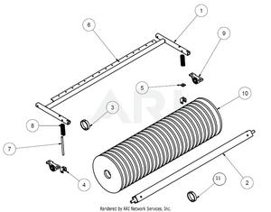 1.7 Übersicht Bauteile MS 1600 Trommelbürste