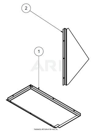 1.8.3 Übersicht Bauteile MS 1600 Verkleidung Grobfraktion